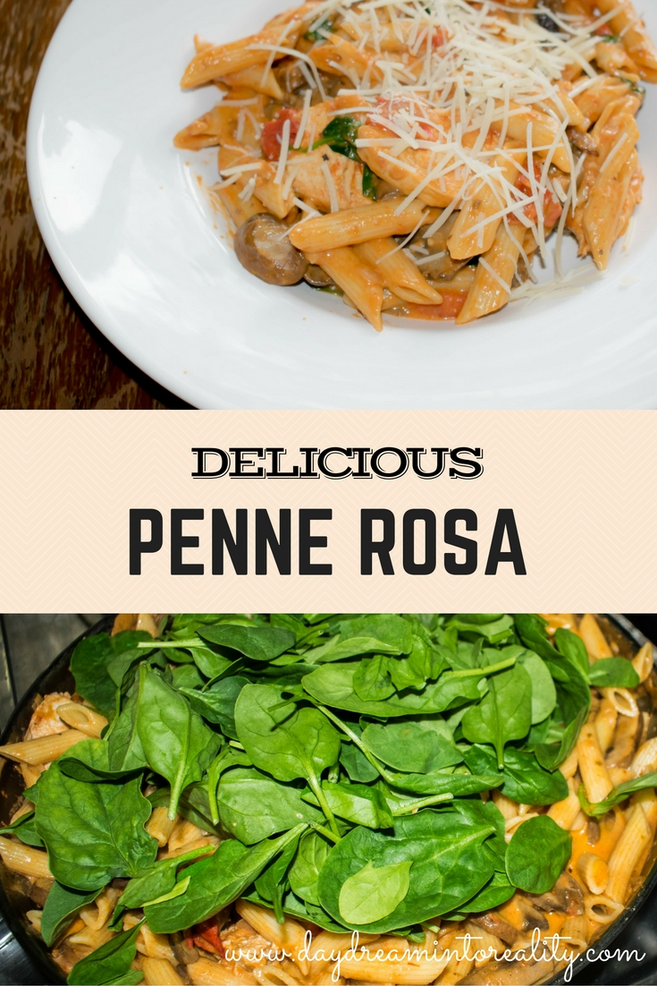 DELICIOUS PENNE ROSA
