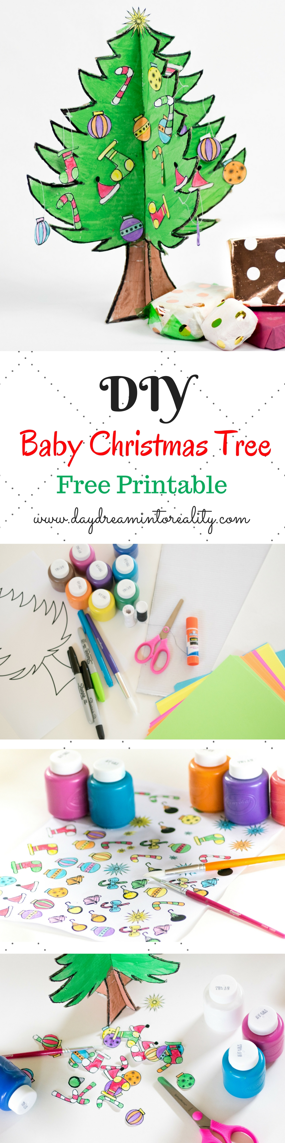 DIY Baby Christmas Tree With Free Printable!!