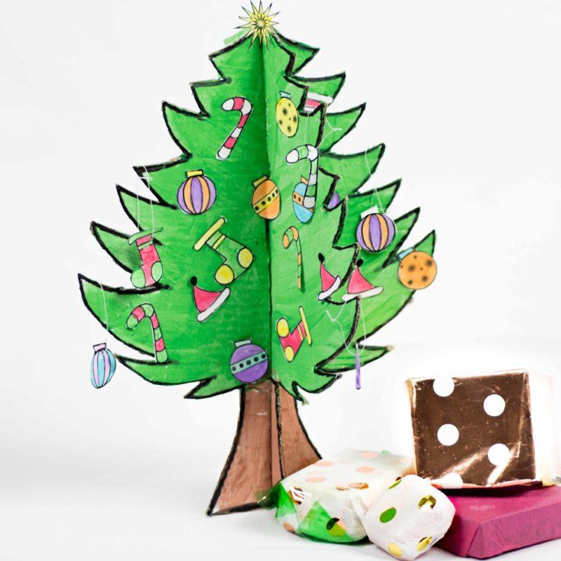 DIY Baby Christmas Tree