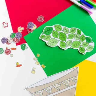 Build a Salad Craft Free Printable