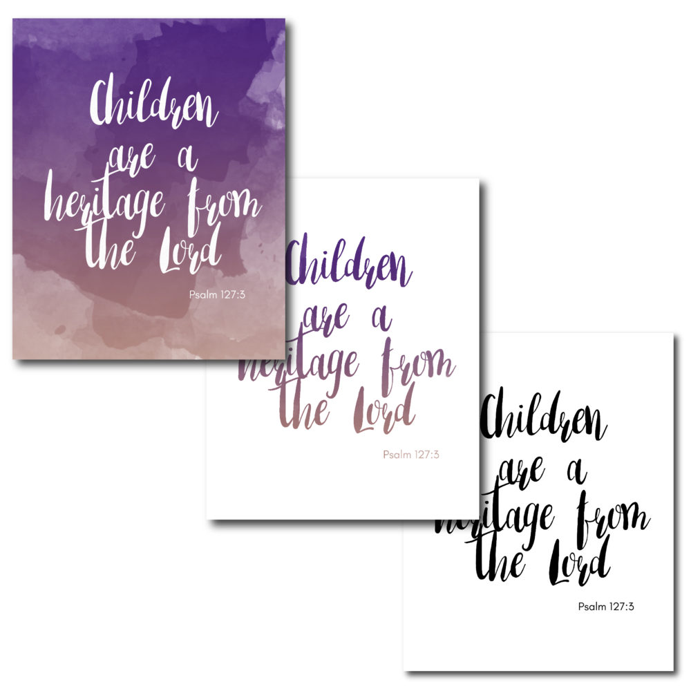 Display this beautiful Wall Art in home and remember that Children are part of the true riches in life!