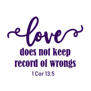 SVG Files_love doesnt keep record of wrongs FREE SVG