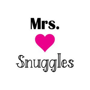 Mrs Snuggles F_Mrs Snuggles SVG