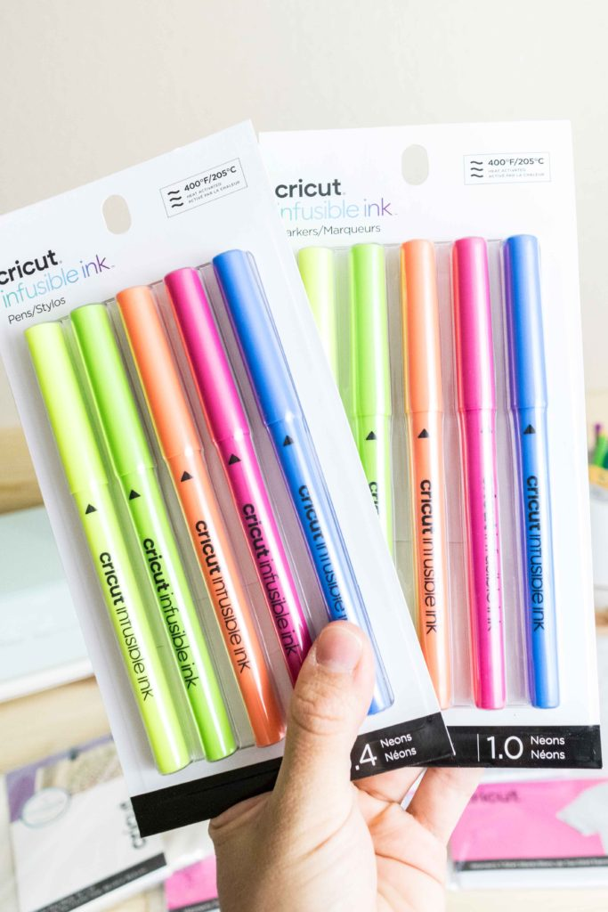 NEON Cricut Infusible Ink Pens and Markers