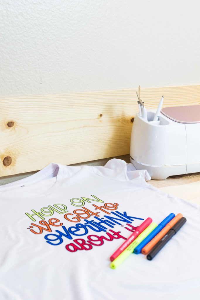 Cricut Maker by T-Shirt made with Cricut Infusible Ink Pens