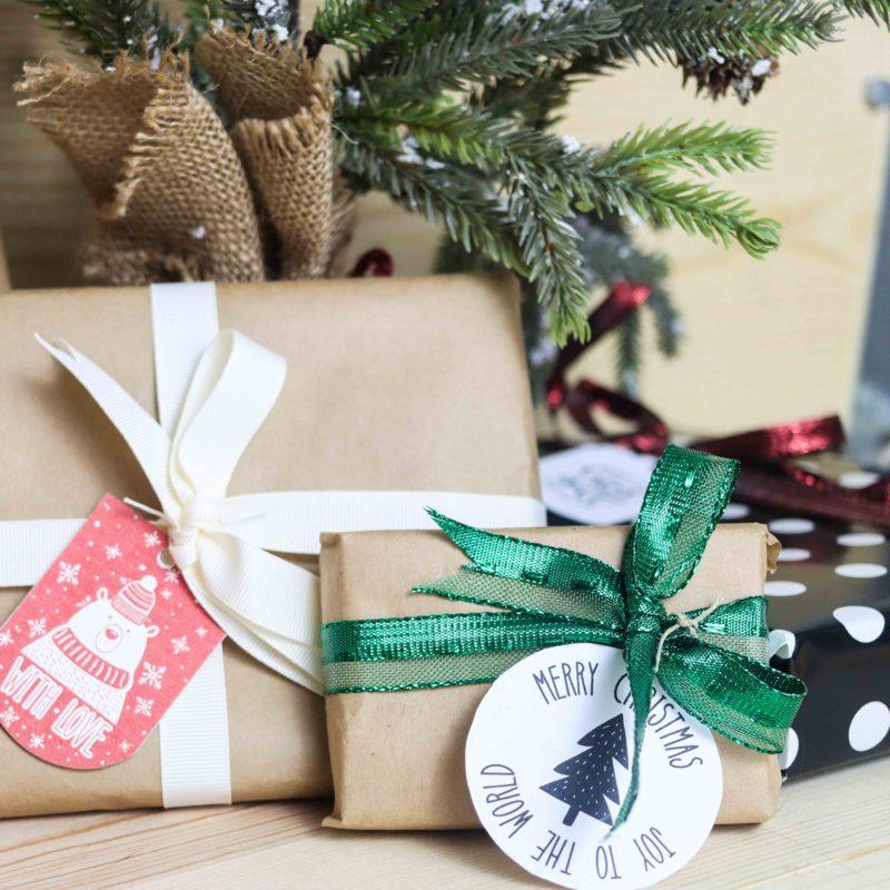 50+ Free Printable Christmas Gift Tags (Also blank templates)