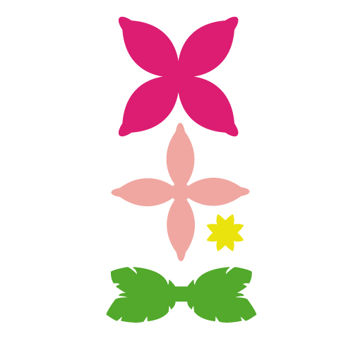 Flower Bow Free SVG