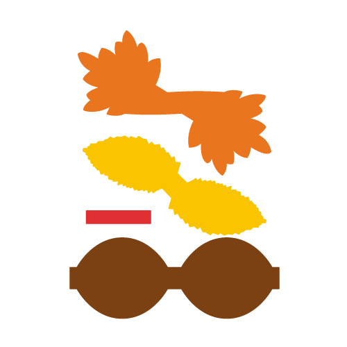 Turkey Bow Free SVG