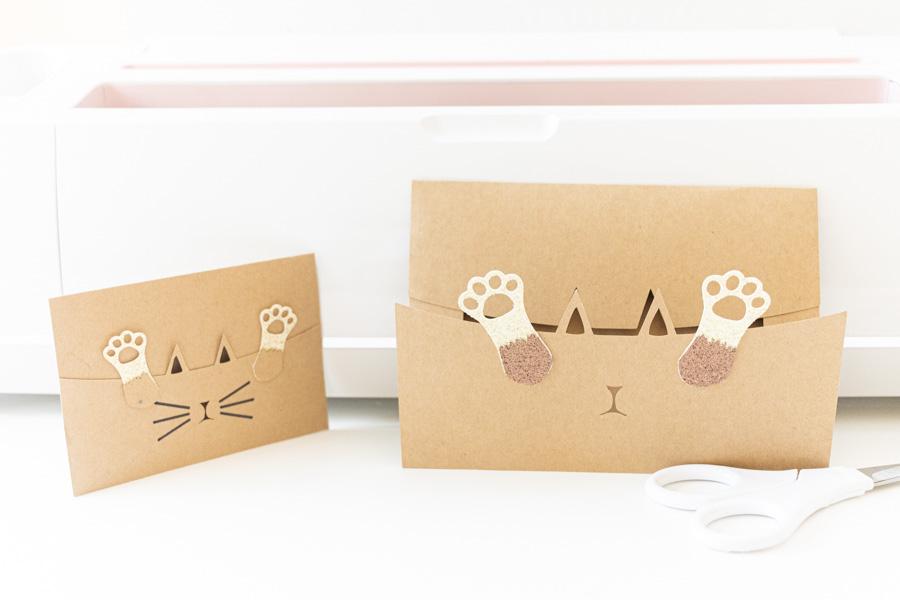 kitty envelopes