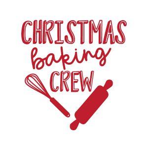 Christmas Baking Crew FREE SVG