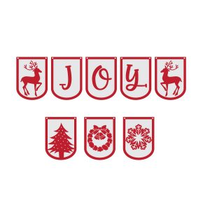 Christmas Banner Free SVG