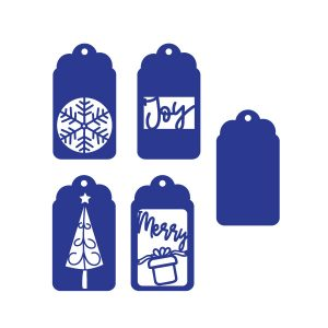 Christmas Gift Tags Free SVG