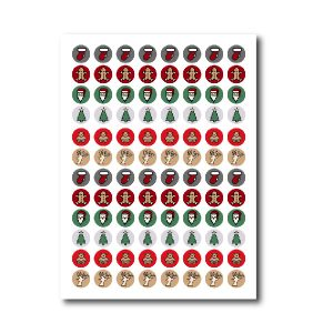 Christmas Stickers PNG