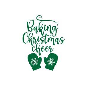 baking christmas cheer Free SVG