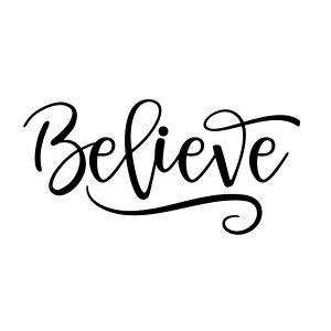 believe Free SVG
