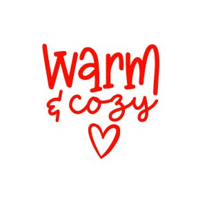 warm and cozy FREE SVG