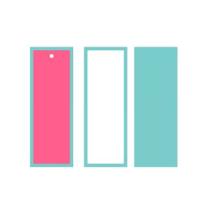Template Bookmark Free SVG 1