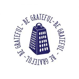 Be Grateful - Free SVG