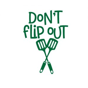 Don't flip out - Free SVG