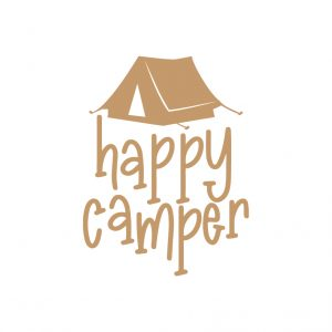 Happy Camper Free SVG-100