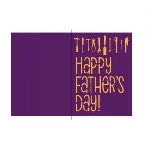 Happy Fathers Day Card Free SVG