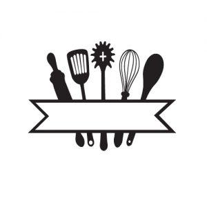 Kitchen Monogram - Free SVG