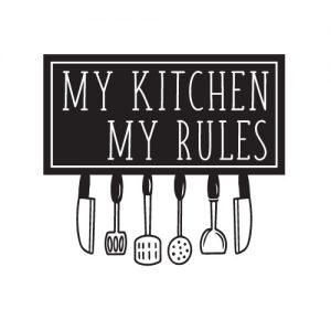 My kitchen my rules - Free SVG
