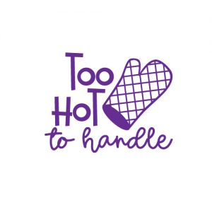 To hot to hanfle - Free SVG