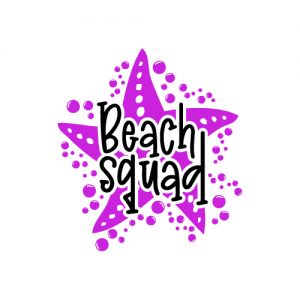 Beach Squad FREE SVG