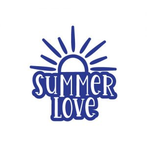 Summer Love FREE SVG