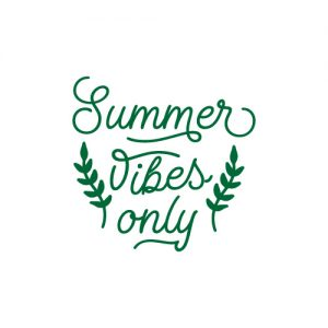 Summer Vibes Only FREE SVG