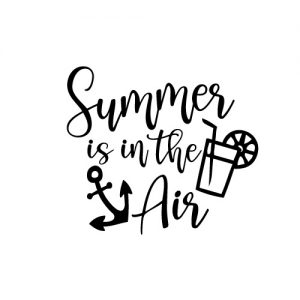 Summer is in the air FREE SVG